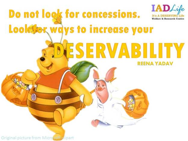 Increase Your DESERVABILITY