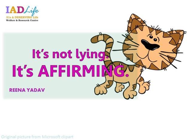 AFFIRMING